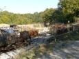 Tady dříve bývala kůlna na vagónky