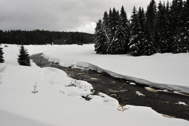 Roklanský potok.