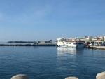 přístav v Ieapetra na jihovýchodu Kréty