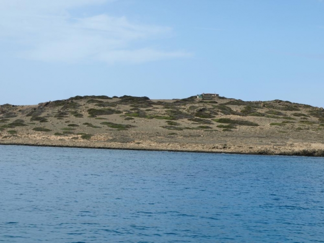 východní část ostrova
