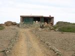 nejvyšší bod a chata strážců ostrova