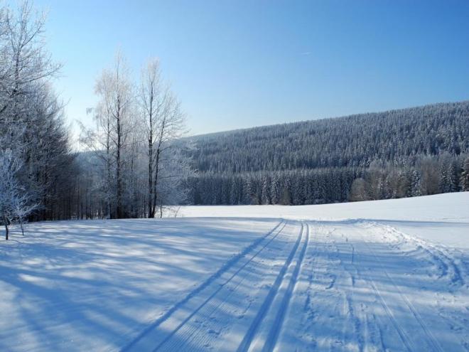 Nad Studeným potokem.