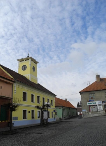 Bavorov, náměstí.
