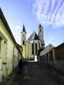 Bavorov, kostel Nanebevzetí Panny Marie.