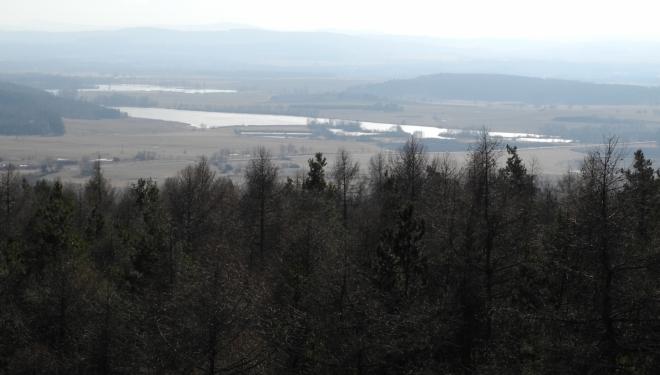 Dobevský rybník.