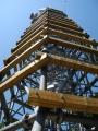 Nástavba věže.