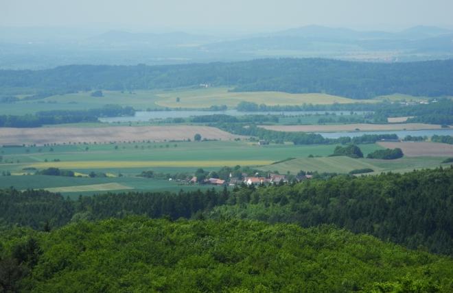 Tálinský a Selibovský rybník.