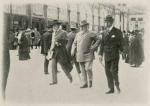 Anglický král Edward VII. v Mariánských lázních (dobová fotografie)