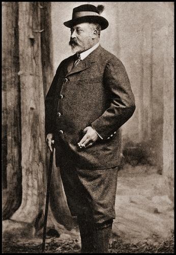 Anglický král Edward VII. na návštěvě v Mariánských lázních