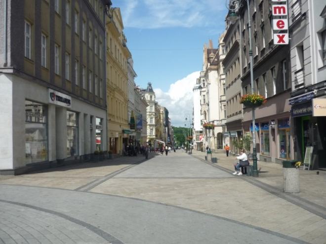 Ulice T. G. Masaryka v Karlových Varech
