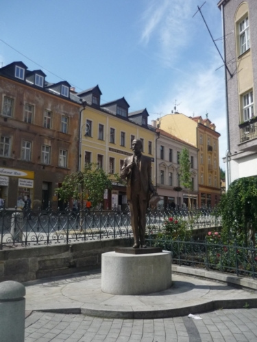 Pomník Tomáše Garrigue Masaryka (neplést s V. I. Leninem)