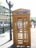 Typická karlovarská telefonní budka