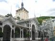 Tržní kolonáda se zámeckou věží