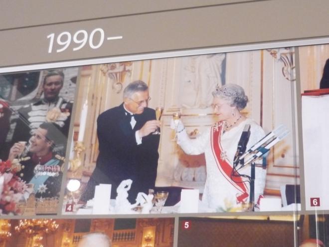 Václav Klaus a Alžběta II.