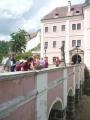 Vstupní most na zámek