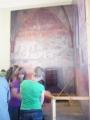 Výjev nalezení relikviáře (součást expozice - nesmí se fotit)