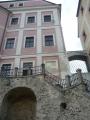 Schody z expozic ze zámku