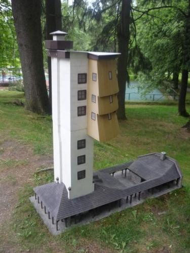 Miniatura rozhledny Poledník
