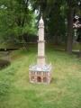 Miniatura minaretu v Lednicích na Moravě