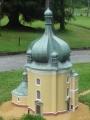 Miniatura kostela Lomce u Vodňan