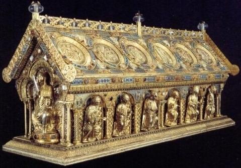 Relikviář sv. Maura (fotka z oficiálních stránek Bečova nad Teplou)
