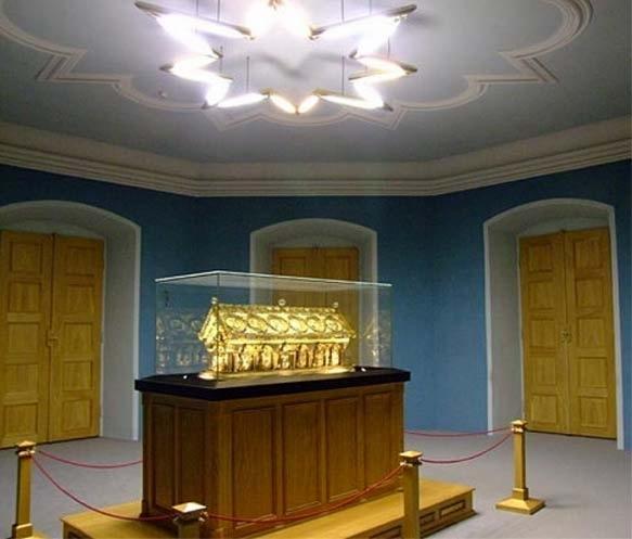 Trezor na relikviář sv. Maura