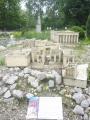 Miniatura Pantheonu v  Athénách