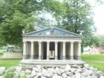 Miniatura Artemidina chrámu v Effesu (starověký div světa)