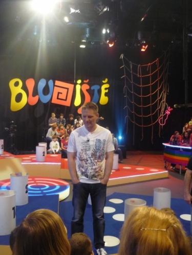 Hlavní moderátor Roman Pastorek