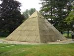 Miniatura egyptské pyramidy (starověký div světa, Tomáš Novotný)