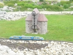 miniatura věže Zuraw v Gdaňsku