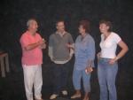 Řešení problému - režisér, moderátor, třídní s dcerou (2007, Hana Šimková)