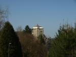 věž v opravě
