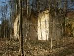 staré opuštěné pískovcove lomy