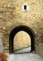 Detail Černé brány.