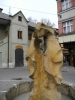Skulpturou se naposledy podíváme na jelení paroží a aniž jsme viděli ve Vimperku vše, přesouváme se na Sudslavickou naučnou stezku, protáhnout si trochu naše zimou zlenivělá těla.