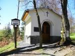 Kaplička, kam přichází každý rok procesí věřících z Rožmitálu.
