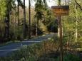Cesty se v Brdském VVP označují podobně jako v nám známějším VVP Boletice.