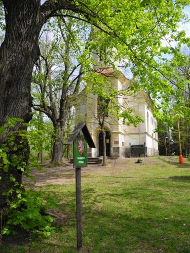 Kostel sv. Prokopa v Březových horách.