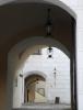 Vstupní brána do hradu.