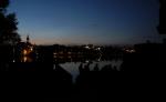 Večerní pohled přes Vajgar.