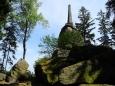 Vysoký Kámen, zvaný též Markův...