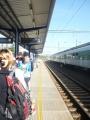 Na táborském nádraží