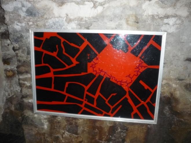 Mapa táborského podzemí