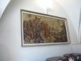 Obraz s husitským výjevem