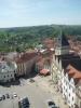 Pohled z věže na radnici