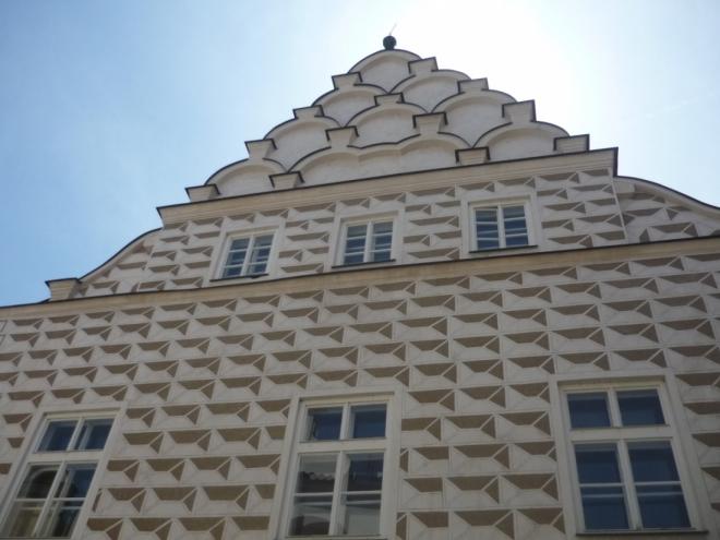 Dům zdoben sgrafity