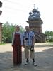 S moderátorkou oslav svátku Ivana Kupaly
