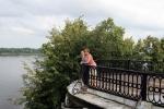 Jaroslavl - výhled na matičku Volhu