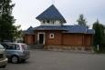 Recepce ubytovacího areálu v Malých Karelách